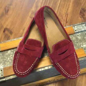 Burgundy Suede(just like new)